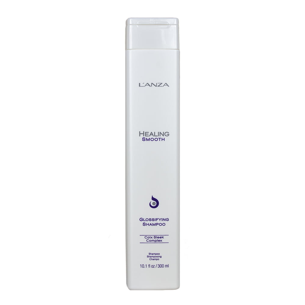 smooth glossifying shampoo - l`anza