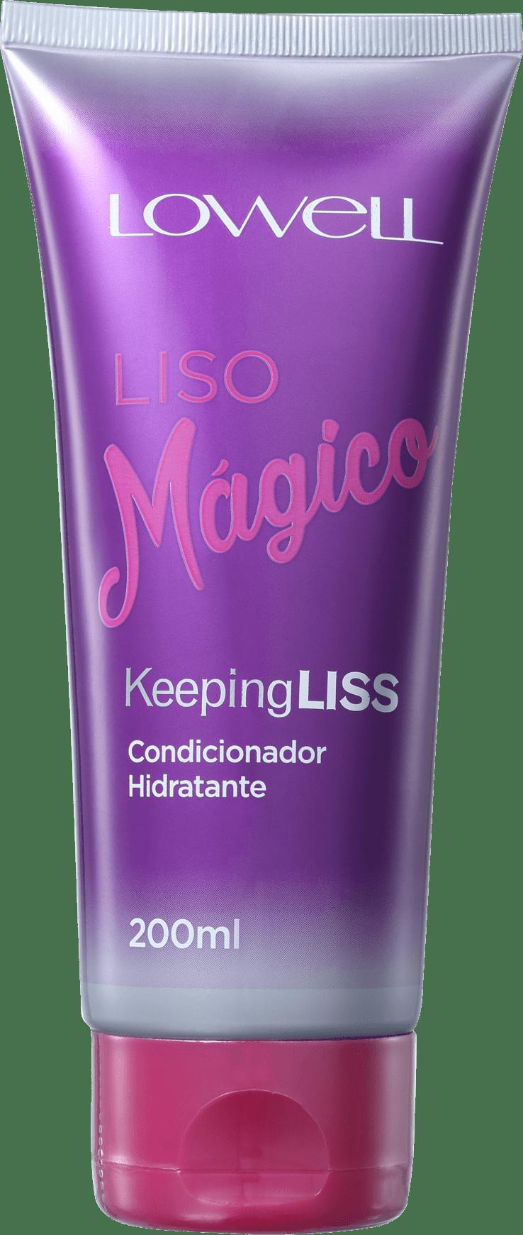Liso Mágico Keeping Liss Condicionador 200ml - Lowell