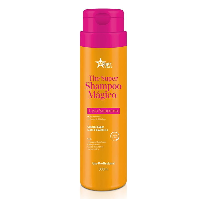 The Super Shampoo Magic Color Shampoo que Alisa