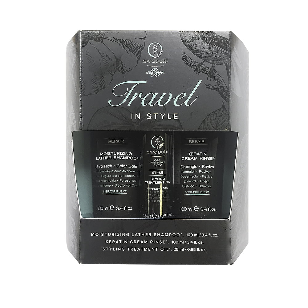Awapuhi Kit Travel Wild Ginger - Paul Mitchell - 3 Produtos