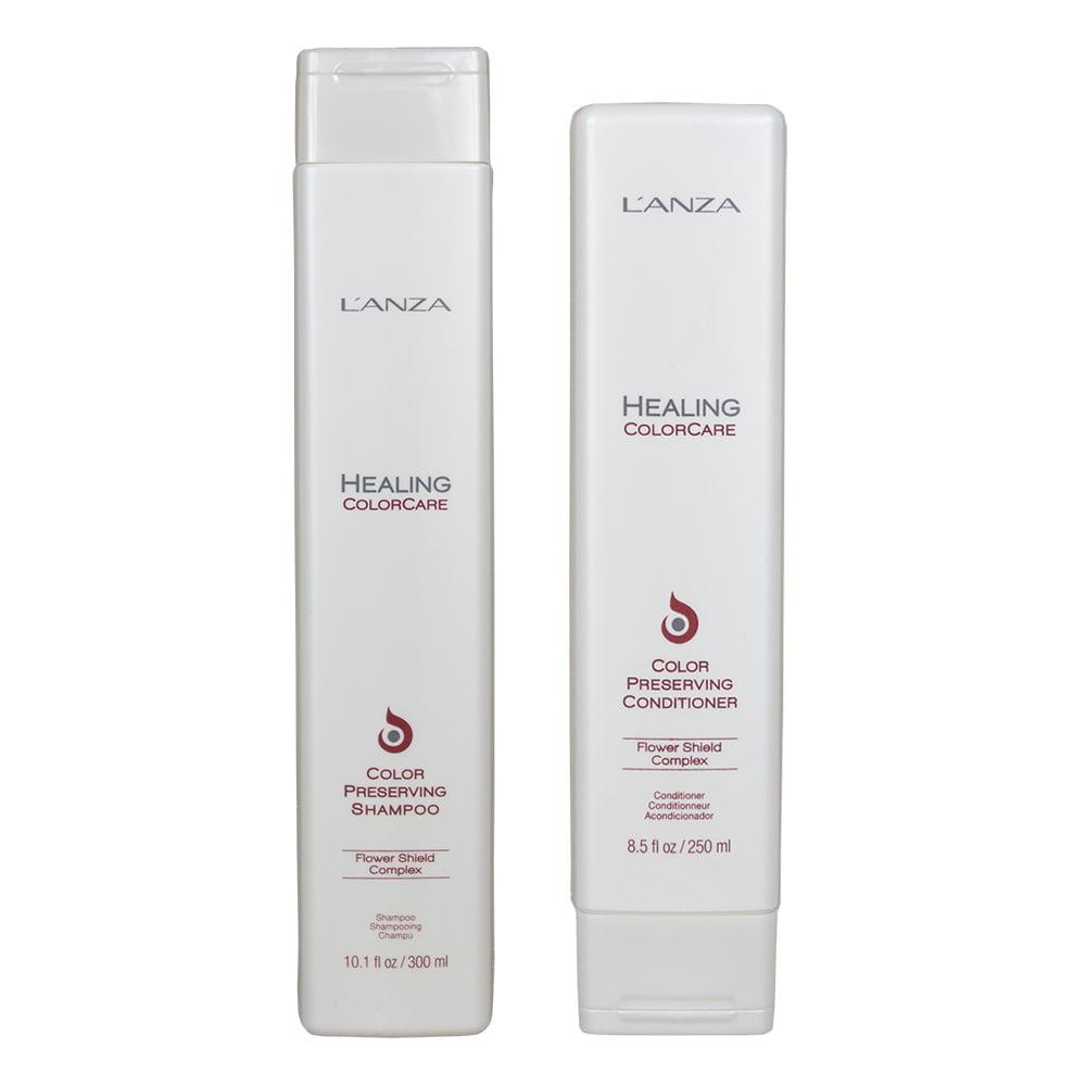 dupla color care - shampoo e condicionador l`anza