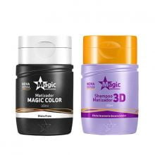 Magic Color Platinum Kit 2 Produtos 100ml - Magic Color
