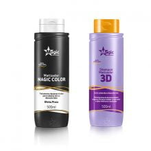 Magic Color Platinum Kit 2 Produtos 500ml - Magic Color