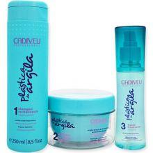 Plástica de Argila - kit 3 produtos - Cadiveu