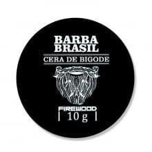 Cera Para Bigode Firewood 10g - Barba Brasil