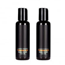 Kit Shampoo E Condicionador Firewood Para Barba - Barba Brasil