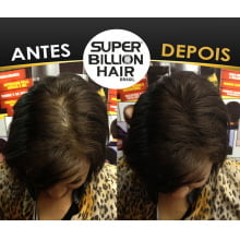 Super Billion Hair Fibers 8gr Preto - Disfarce Para Calvice
