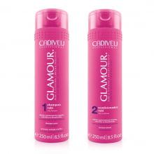 Glamour Rubi - Shampoo e Condicionador Cadiveu