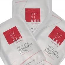 Kit 3 Máscaras Hidratantes Faciais - Rosas - Désirée