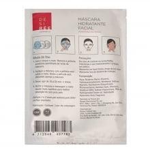 Máscara Hidratante Facial Rosas 3 unidades Désirée