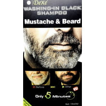Dexe Washing-in Black Shampoo Mustache e Beard