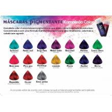 Máscara Pigmentante Melro Violet Kamaleão Color Marsala