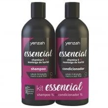 Essencial Kit Shampoo e Condicionador - Yenzah