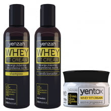 Whey Fit Cream - 3 Produtos - Yenzah