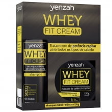 Whey Fit Cream Kit 2 Produtos - Yenzah