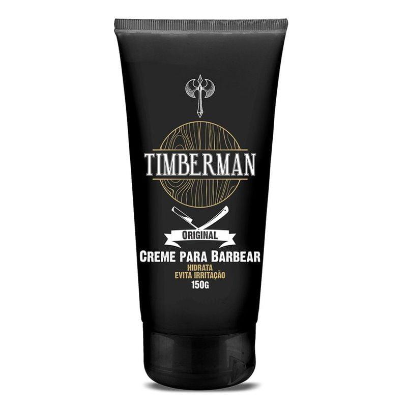 Creme para Barbear Timberman