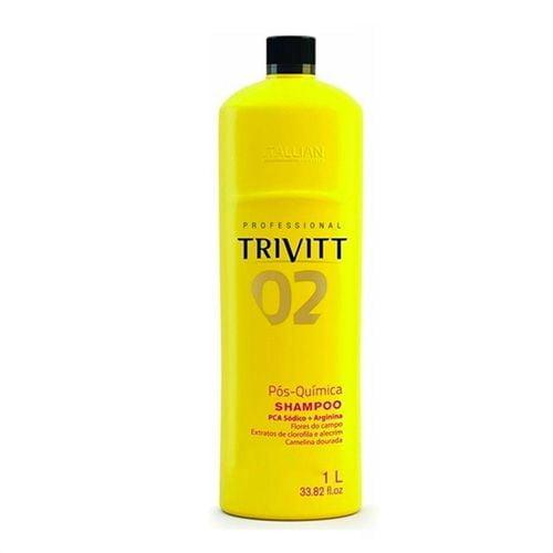 Shampoo Pós-Química 02 - 1L Trivitt