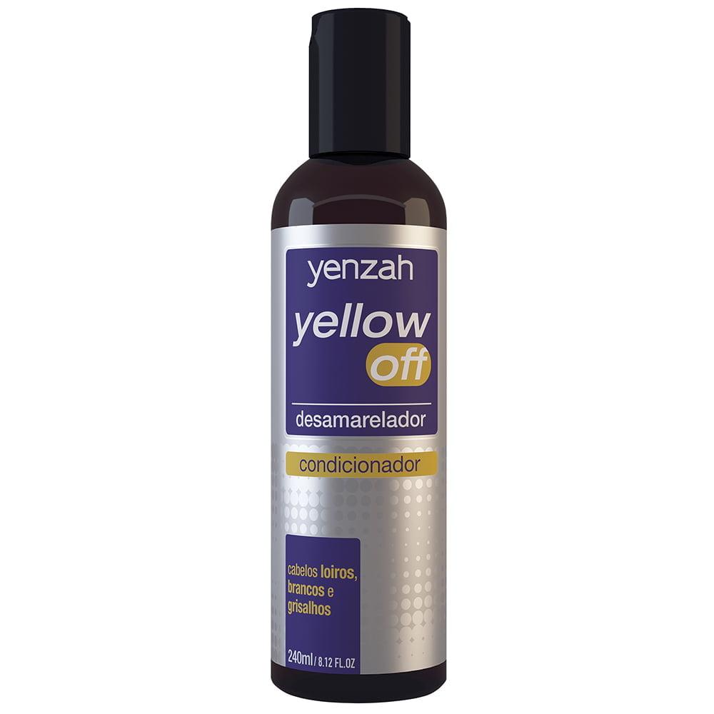 yellow off - condicionador desamarelador - yenzah