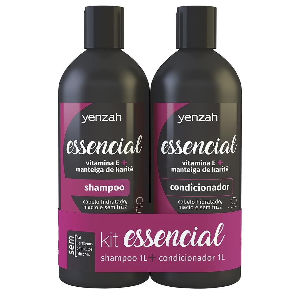 Kit Essencial Shampoo e Condicionador Yenzah