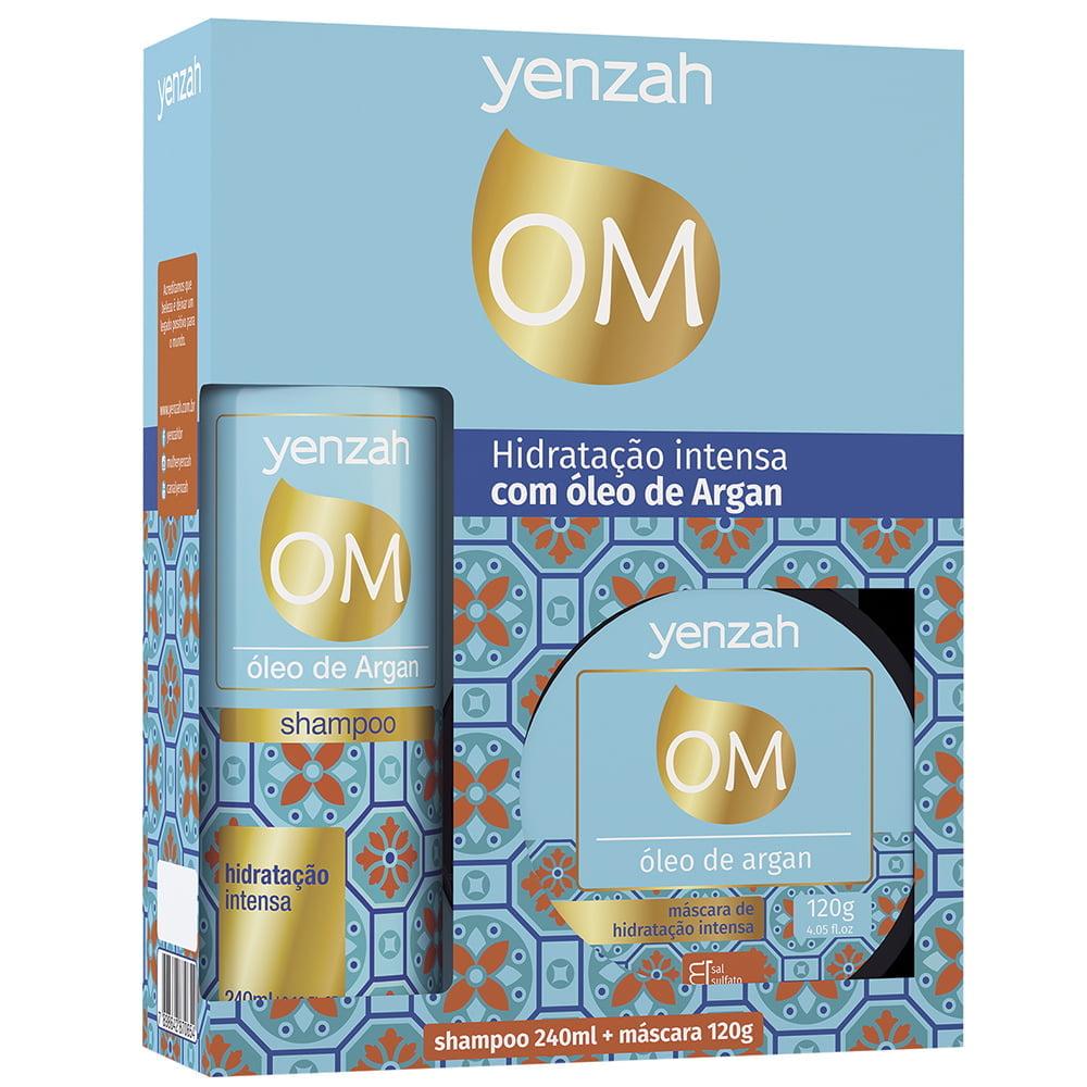 Óleo de Argan Kit 2 Produtos - Yenzah