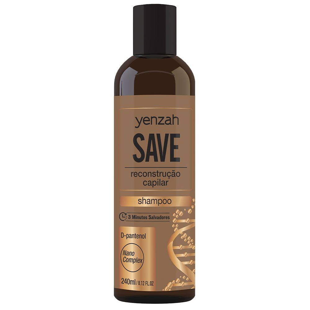 Save Shampoo 240ml - Yenzah
