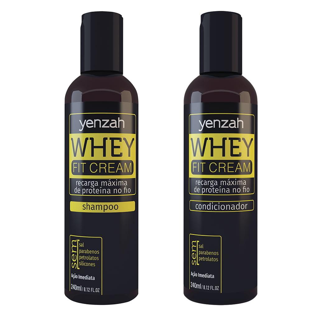 Whey Fit Cream - 2 Produtos - Yenzah
