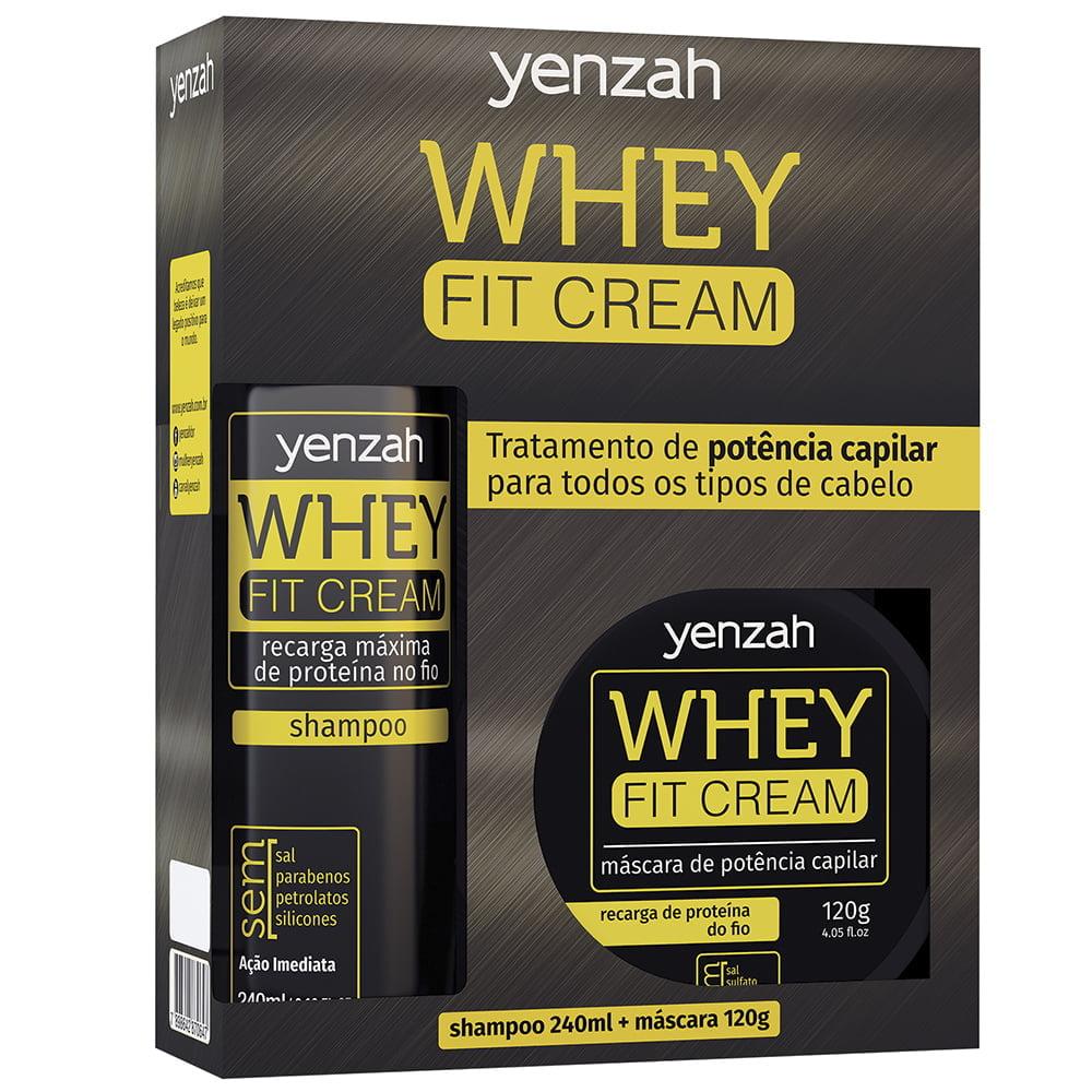 Whey Fit Cream Kit 2 Produtos - Yenzah