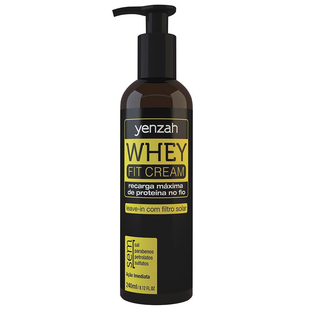 Whey Fit Cream Leave In de Potência Yenzah