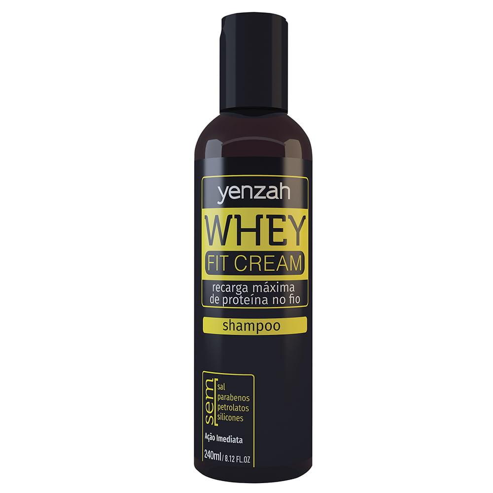 Whey Fit Cream Shampoo de Potência Yenzah