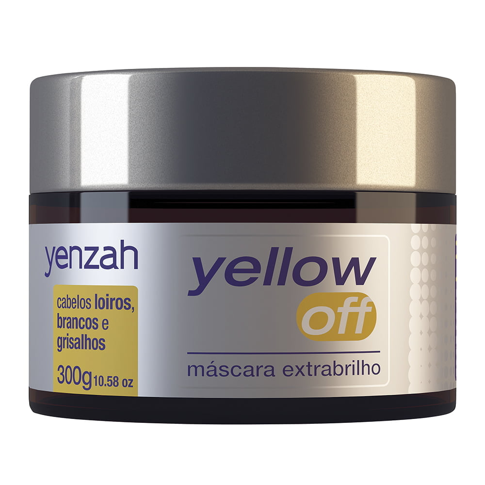 Yellow Off Máscara Extrabrilho Yenzah