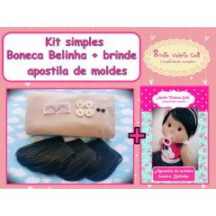 Kit simples Belinha + brinde apostila de moldes