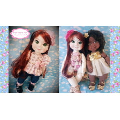 Super combo DvD boneca Malu + bônus boneca Mel