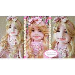 DVD boneca de rosto modelado