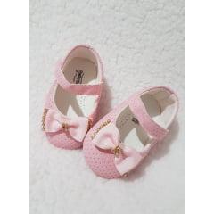 sapatinho rosa laço 2