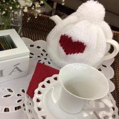 Capinha para bule de chá love