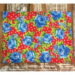 Jogo americano floral colorido
