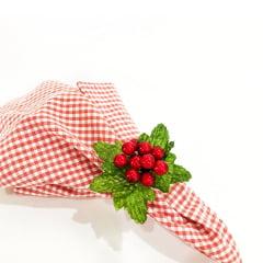 Porta guardanapo azevinho natal