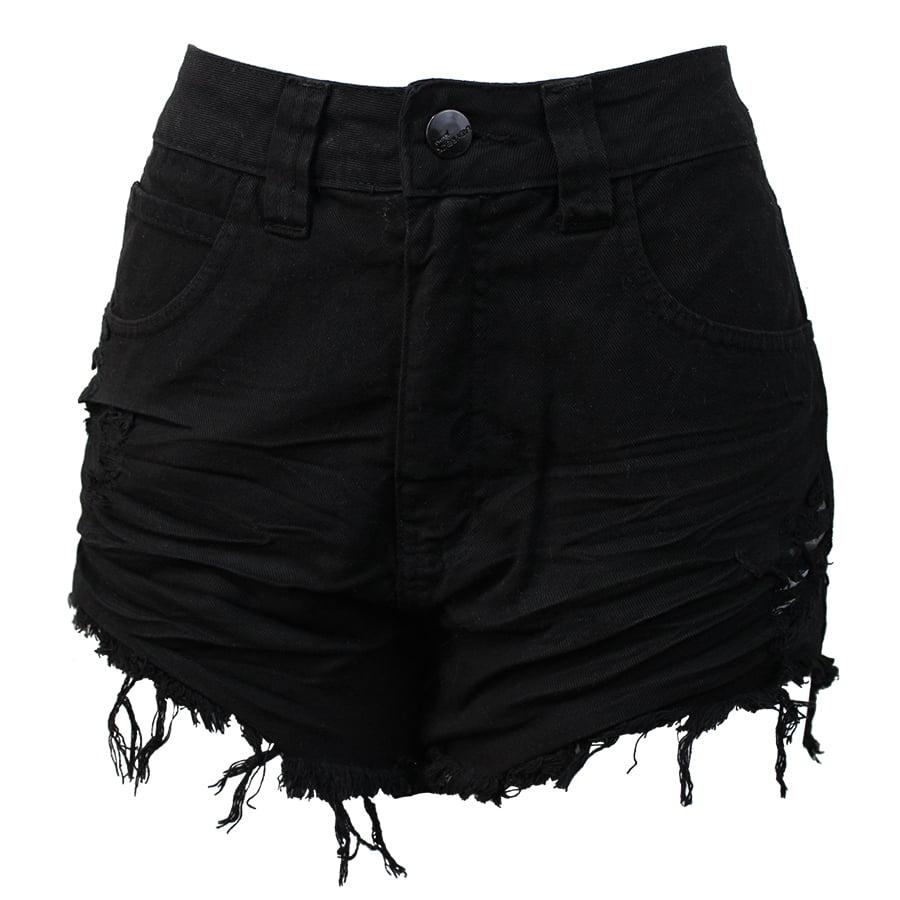 7721ffc95 Shorts Hot Pants Preto Lady Rock - Compre Shorts Hot Pants Preto ...