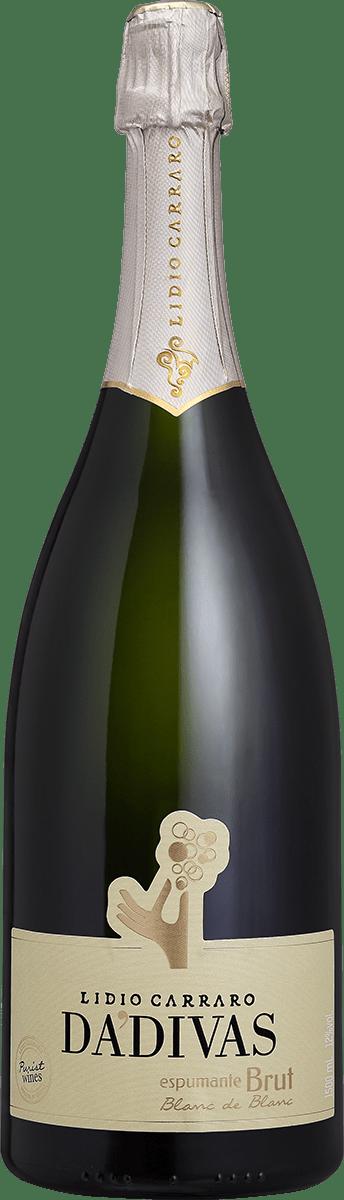 Espumante Lidio Carraro Dádivas Brut Blanc de Blanc  1,5 litros