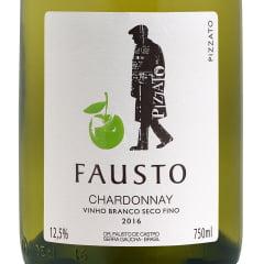 Vinho Fausto Chardonnay 2018 Branco 750ml