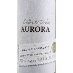 Vinho Aurora Colheita Tardia Malvasia/Moscato Branco Suave 500ml