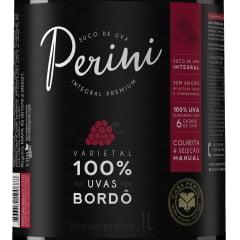 Suco de Uva Casa Perini Bordô Tinto Integral 1Lt