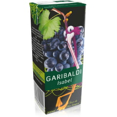 Suco de Uva Garibaldi Tinto Integral 200ml TP C/24