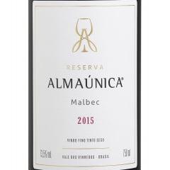 Vinho Almaúnica Reserva Malbec Tinto 750ml