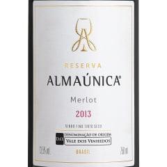 Vinho Almaúnica Reserva Merlot D.O. Tinto 750ml