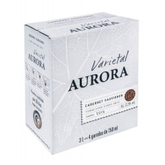 Vinho Aurora Varietal Cabernet Sauvignon Tinto Bag in Box 300ML
