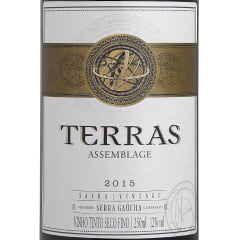 Vinho Peterlongo Terras Assemblage Tinto 250ml