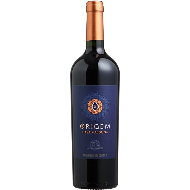 Vinho Casa Valduga Origem Merlot Tinto 750ml