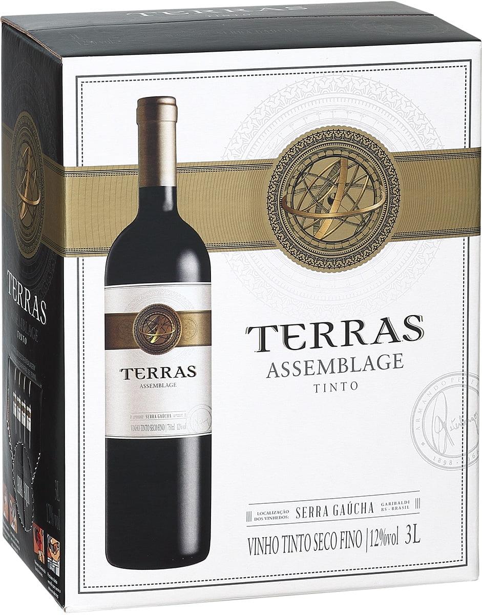 Vinho Peterlongo Terras Assemblage Tinto Bag in Box 3 Lts