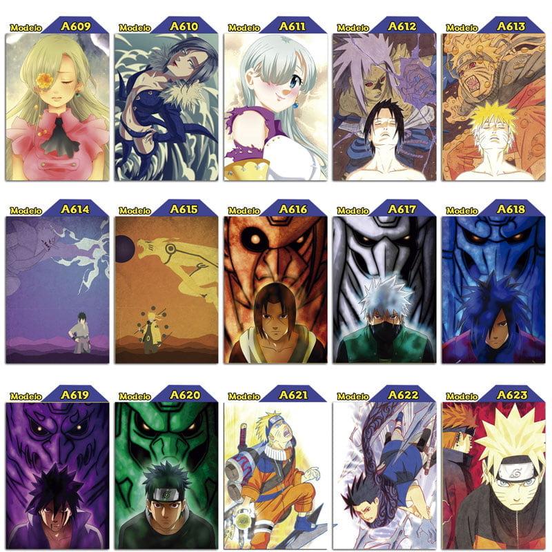 Placas decorativas Naruto
